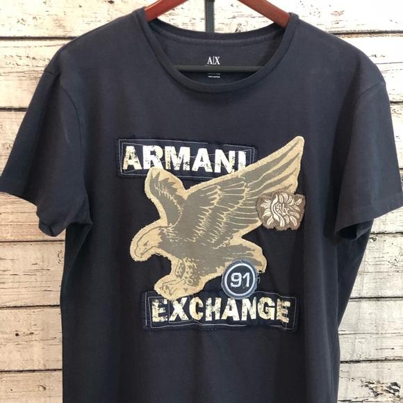 591530661ba Armani Exchange Other - Men s Armani Exchange Navy Blue T-Shirt